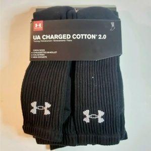 Under Armour Cotton Athletic Crew Sock 12-16